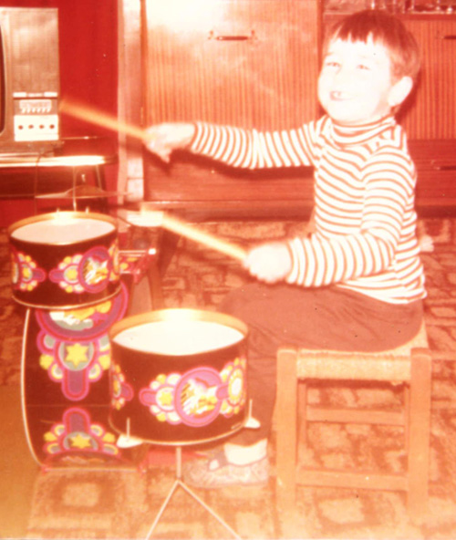 CB First Drum Kit, aged 3 years